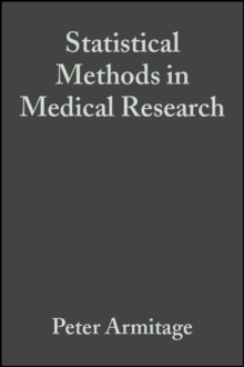 Statistical Methods in Medical Research, Hardback Book