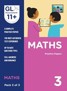 11+ Practice Papers Maths Pack 3 (Multiple Choice), Paperback / softback Book