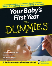 Your Baby's First Year For Dummies, Paperback / softback Book