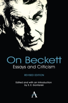 On Beckett : Essays and Criticism, Hardback Book