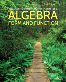 Algebra : Form and Function, Paperback / softback Book