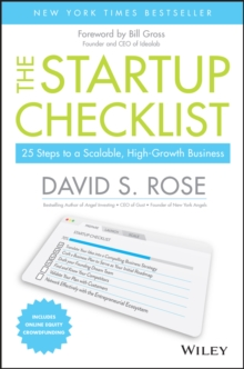 The Startup Checklist : 25 Steps to a Scalable, High-Growth Business, Hardback Book