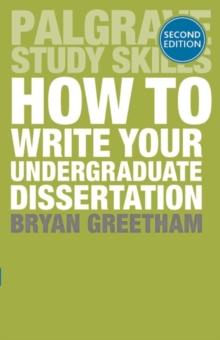 Undergraduate dissertation books