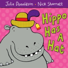 Hippo Has A Hat, Paperback Book