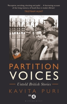 Partition Voices : Untold British Stories, Hardback Book