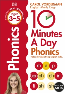 10 Minutes A Day Phonics Ages 3-5 Key Stage 1, Paperback / softback Book