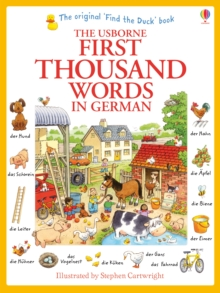 First Thousand Words in German, Paperback Book