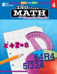 180 Days of Math for Fourth Grade : Practice, Assess, Diagnose, Paperback / softback Book
