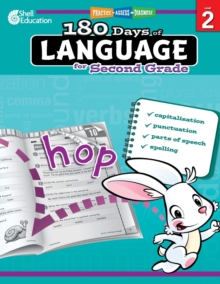 180 Days of Language for Second Grade : Practice, Assess, Diagnose, Paperback / softback Book