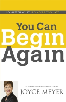 You Can Begin Again, Paperback / softback Book