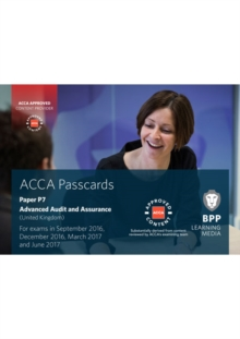 ACCA P7 Advanced Audit and Assurance (UK) : Passcards, Spiral bound Book