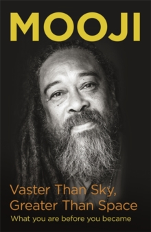 Vaster Than Sky, Greater Than Space, Hardback Book