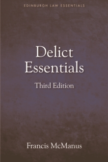Delict Essentials, Paperback / softback Book