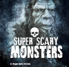 Super Scary Monsters, Hardback Book