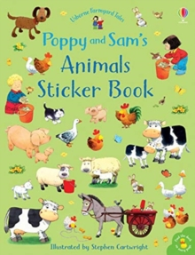 Poppy and Sam's Animals Sticker Book, Paperback / softback Book