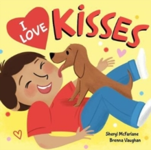 I Love Kisses, Hardback Book