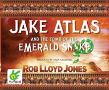 Jake Atlas and the Tomb of the Emerald Snake, CD-Audio Book