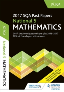 National 5 Mathematics 2017-18 SQA Specimen and Past Papers with Answers, Paperback Book