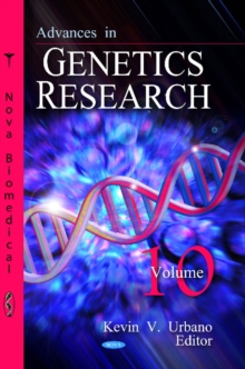 Advances in Genetics Research : Volume 10, Hardback Book
