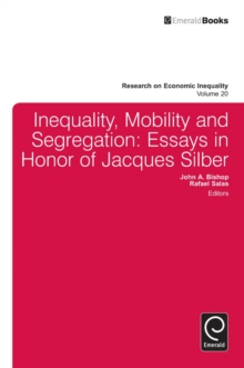 essays on residential segregation Read this miscellaneous essay and over 88,000 other research documents segregation there has always been racial tension and prejudice between the african-americans.