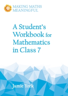 A Student's Workbook for Mathematics in Class 7, Paperback / softback Book