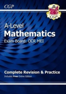 New A-Level Maths for OCR MEI: Year 1 & 2 Complete Revision & Practice with Online Edition, Mixed media product Book