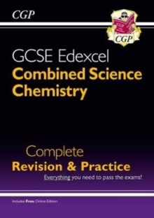 New Grade 9-1 GCSE Combined Science: Chemistry Edexcel Complete Revision & Practice with Online Edn., Paperback Book