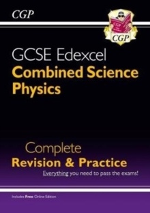 New Grade 9-1 GCSE Combined Science: Physics Edexcel Complete Revision & Practice with Online Edn., Paperback Book