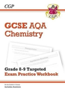 New GCSE Chemistry AQA Grade 8-9 Targeted Exam Practice Workbook (includes Answers), Paperback Book