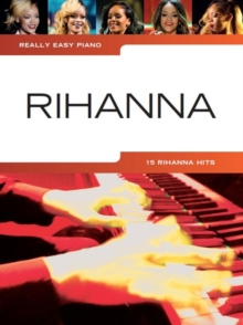 Really Easy Piano : Rihanna, Paperback / softback Book