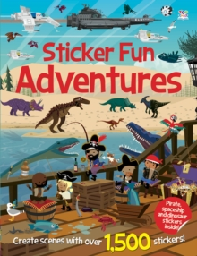 Sticker Fun Adventures, Paperback Book
