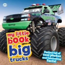My Little Book of Big Trucks, Hardback Book
