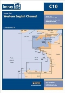 Imray Chart C10 : Western English Channel Passage Chart, Paperback / softback Book