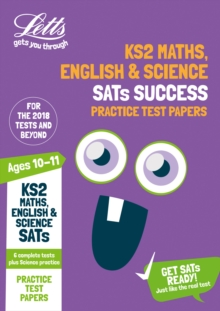 KS2 Maths, English and Science SATs Practice Test Papers : 2019 Tests, Paperback / softback Book
