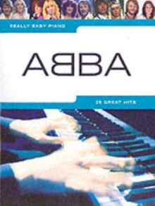 Really Easy Piano : Abba, Paperback Book