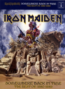 Iron Maiden : Somewhere Back in Time - the Best of 1980-1989 (Tab), Paperback / softback Book
