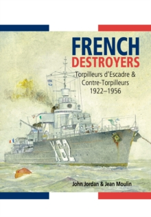 French Destroyers, Hardback Book