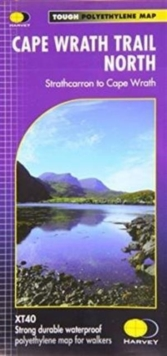Cape Wrath Trail North XT40 : Route Map, Sheet map, folded Book
