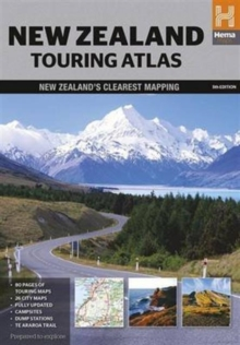 New Zealand Touring Atlas, Paperback Book