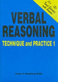 Verbal Reasoning : Technique and Practice No. 1, Paperback / softback Book