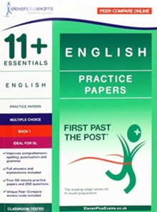 11+ Essentials English Practice Papers Book 1, Paperback / softback Book