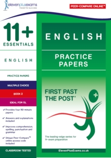11+ Essentials English Practice Papers Book 2, Paperback / softback Book