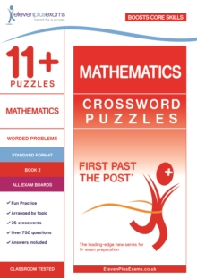 11+ Puzzles Mathematics Crossword Puzzles Book 2, Paperback Book