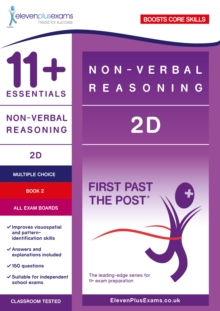 11+ Essentials Non-verbal Reasoning 2D Book 2, Paperback Book